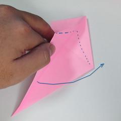 สอนการพับกระดาษเป็นลูกสุนัขชเนาเซอร์ (Origami Schnauzer Puppy) 031