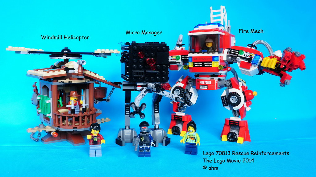 The LEGO Movie Rescue Reinforcements 70813 NEW
