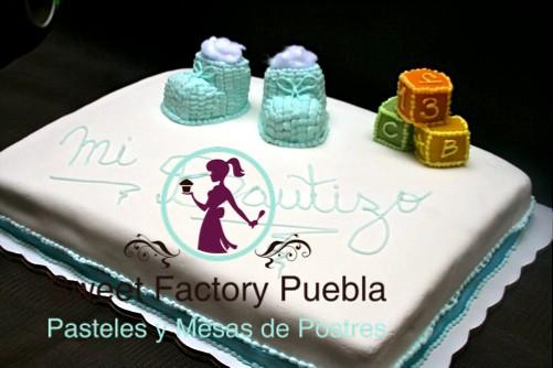 Mesa De Pastel Para Baby Shower.Pastel Bautizo O Baby Shower Pastel Para Bautizo Sweet Fac