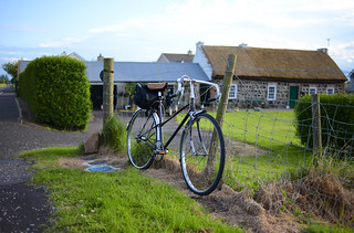 Claud Butler Mixte and Thatched Cottage | by Lovely Bicycle!