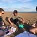 BBQ on the beach by dafyddbach