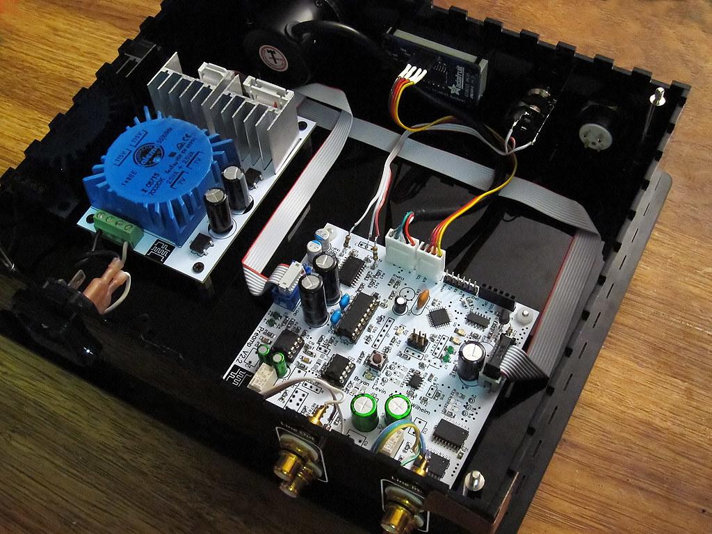 DIY: Arduino PGA Audio Preamp, PSU | with this revision, we … | Flickr