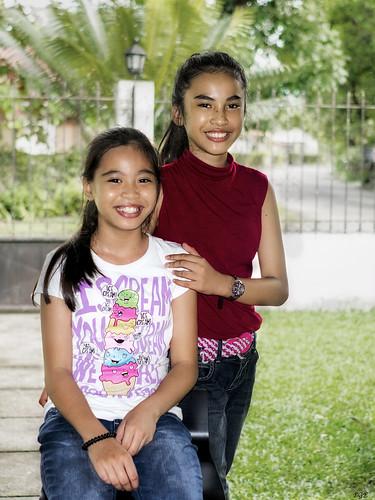 portrait children filipina philippines