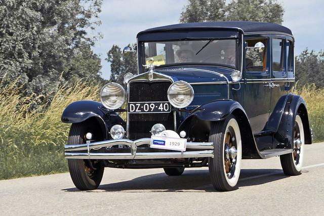 Hupmobile Century 6 Series A-7 Sedan 1929 (3819)