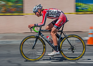 Downtown Cycling Race - Chico, California (4/14/2013) | by rbb32