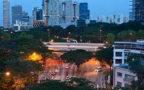 skyline landscapes scenery singapore dusk land nightfall urbanlandscape urbanskyline builtenvironmenturbanlife