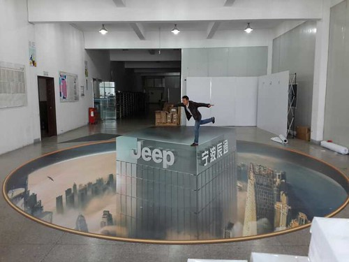jeep | by 3D floor sticker - YeJun