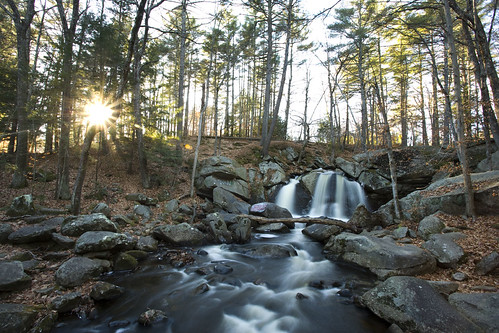 thanksgiving sunset fall forest canon river waterfall stream autum massachusetts newengland falls brook ashby 1740l 1dsmarkii stateforest trapfalls willardbrookstateforest trapfallbrook