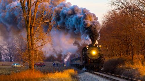 unitedstates michigan peremarquette trains polarexpress elsie steamengine engine1225