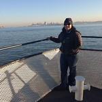 Image: Aditi on the Ferry