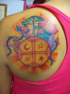 Santeria Tattoo | Contacto tatuador (a) : marleneaurora sant