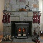 Picture perfect fireplace
