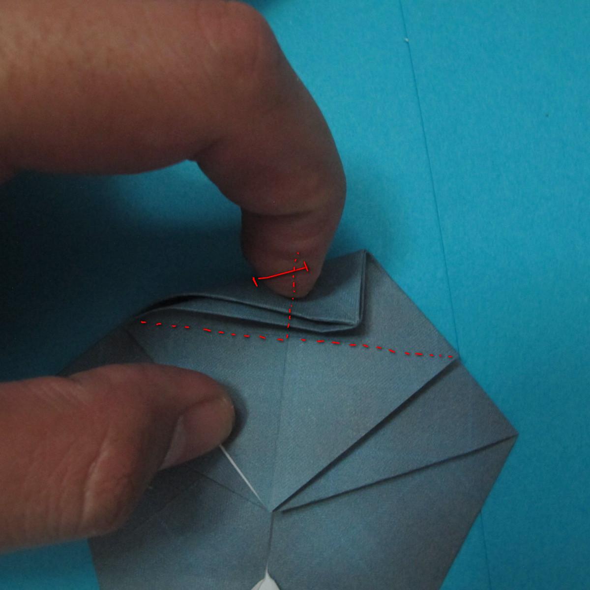 วิธีการพับกระดาษเป็นรูปนกเค้าแมว 016