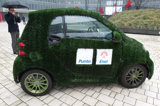 pool car...green car