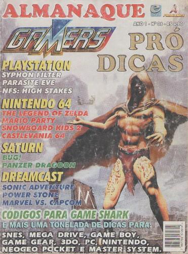 Almanaque Gamers n.06 - capa