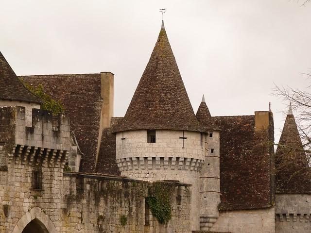 Castillo de Bridoire (Périgord, Francia)