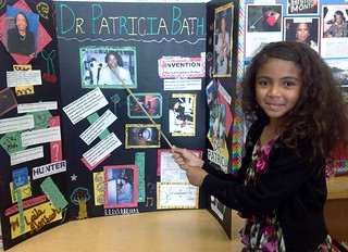 My Black History Month report on Dr. Patricia Bath by Laila | by Clotee Pridgen Allochuku