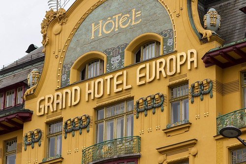 Grand Hotel Europa, Wenceslas Square | by Luke Robinson