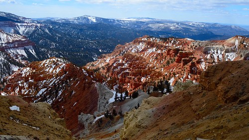 trees mountain nature colors rock utah nationalpark rocks colorful scenic valley bryce overlook bluff geological cedarbreaks scenicbyway