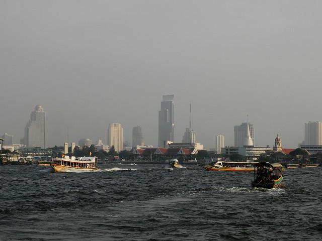 Río Chao Phraya (แม่น้ำเจ้าพระยา)