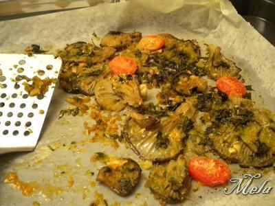 Funghi cardoncelli gratinati00004 | by cheffina2012