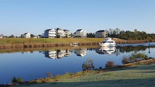 myrtlewoodgolfcourse reflections morning sunny southcarolina