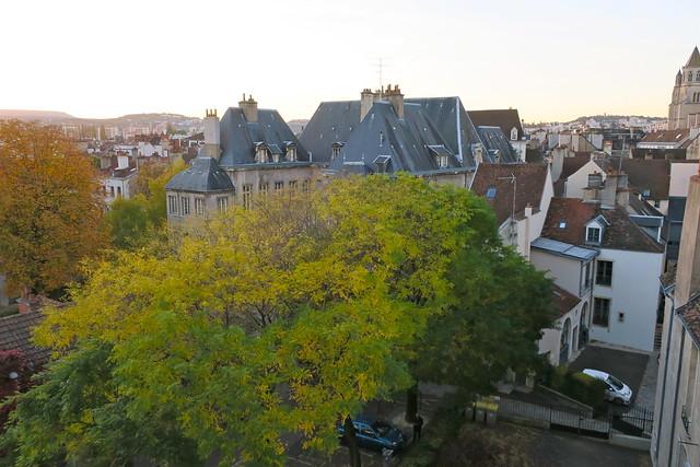 L'automne à Dijon depuis mes fenêtres