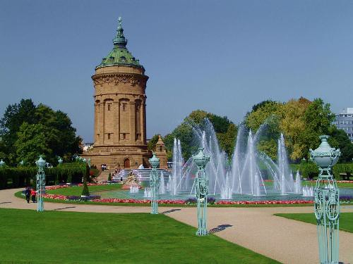 Mosconi, Federico; Mannheim, Germany - 8 Sightseeing
