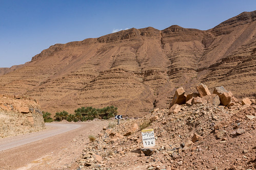 Strasse nach Ouarzazate