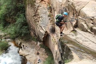 Navigating Rap 3, Russell Gulch Zion NP | by Snow_s4