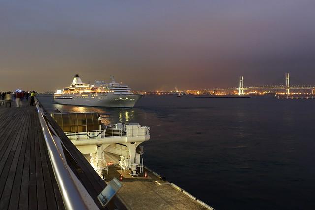ship bound outward