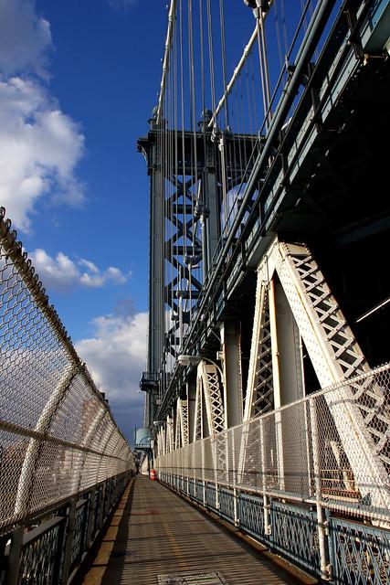 Manhattan Bridge Walkway