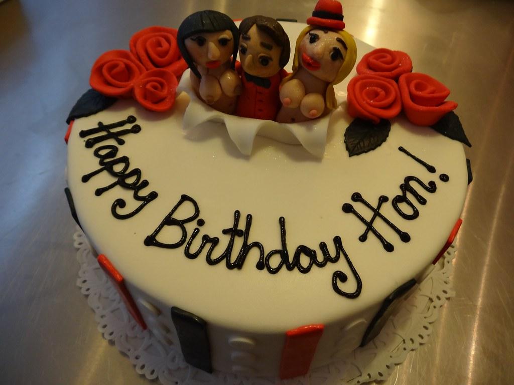 Miraculous Lesbian Strippers Birthday Cake Zoe Elizabeth Gottehrer Flickr Funny Birthday Cards Online Elaedamsfinfo