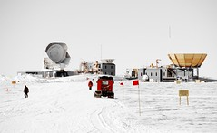 "The ominous sounding ""Dark Sector"" laboratory at the South Pole. I looked but they must be keeping the aliens someplace else."