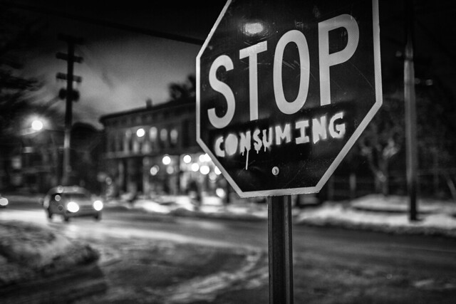 Stop Consuming