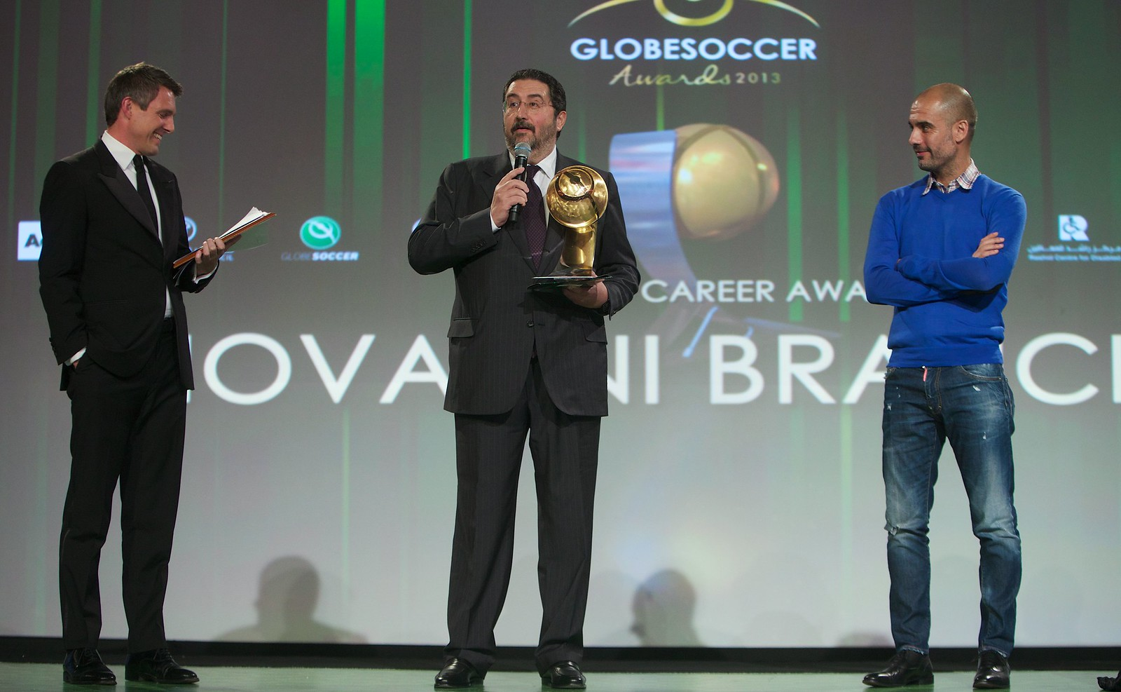Globe Soccer Awards 208