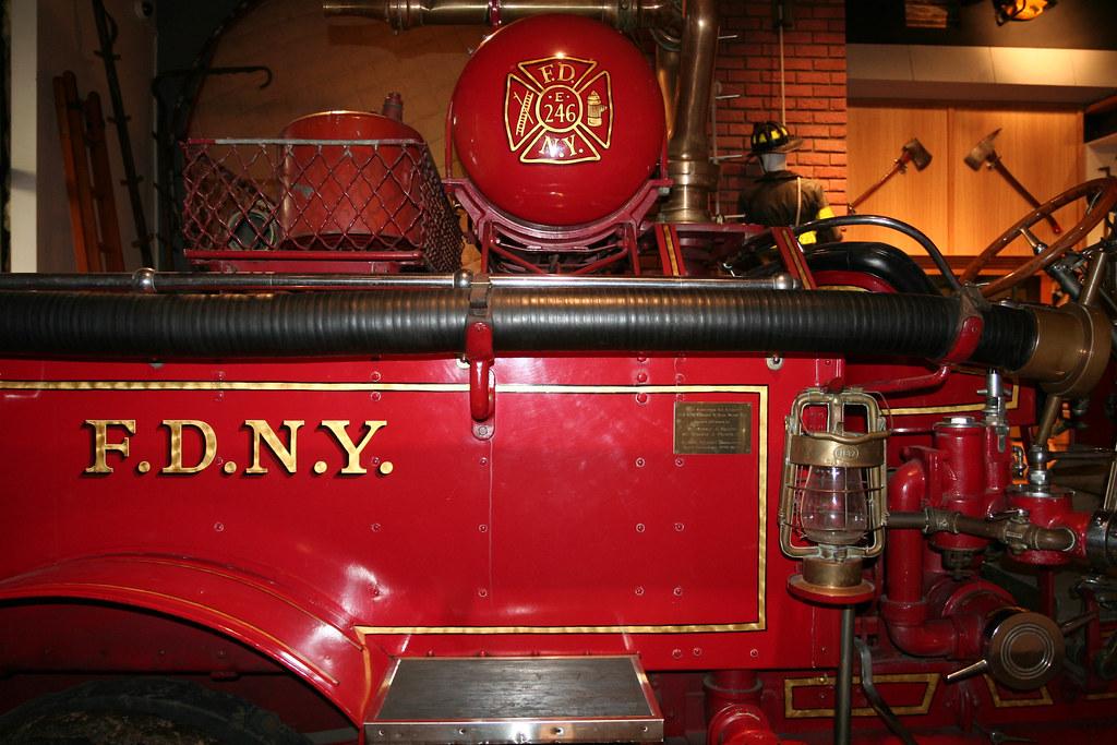 Fire Wagon, New York City Fire Museum
