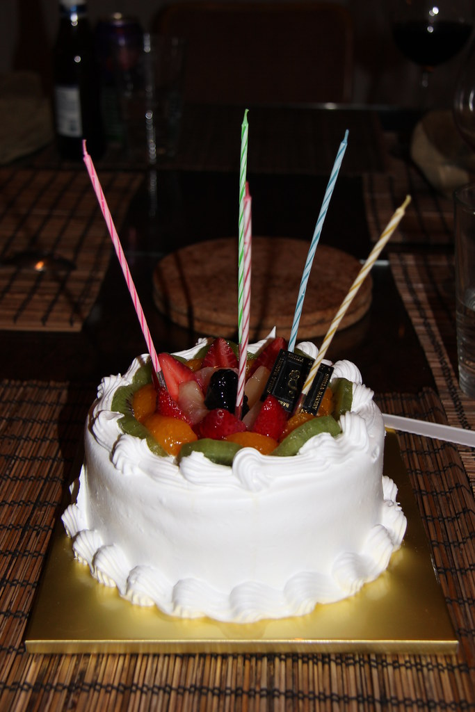 Fabulous Korean Birthday Cake Delicous Sponge Cake Funny Birthday Cards Online Elaedamsfinfo