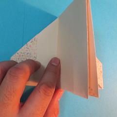 วิธีพับกระดาษเป็นผีเสื้อหางแฉก 021
