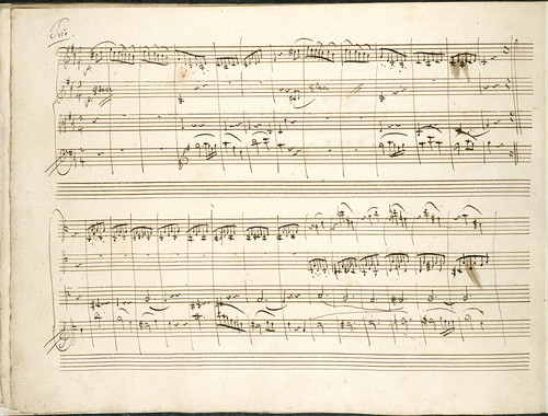 Three Quartetts dedicated to the King of Prussia - caption: 'Mozart's String Quartet in D'