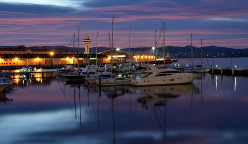 tasmania australia yachts morning light sunrise reflections peaceful calm harbour harbor nikoncafed7000 yahoo:yourpictures=yachts yahoo:yourpictures=night yahoo:yourpictures=sunrise 100v10f trave