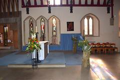 Pace's sanctuary, Hakewill's sedilia