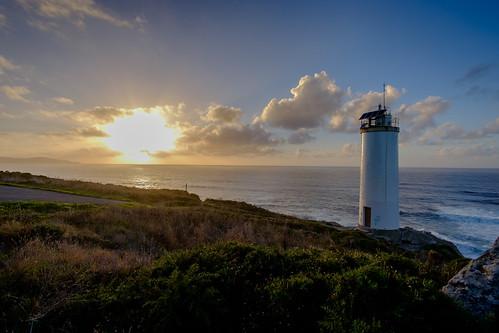 españa galicia lacoruña laxe lage faro mar atardecer cielo nubes sky paisaje landscape lighthouse sunset sea clouds s samyang12mm