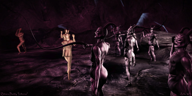 Rebeca Bashly's Inferno - Fraud I (bolgia 1)