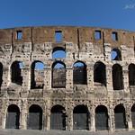 Colosseum of the Roman empire