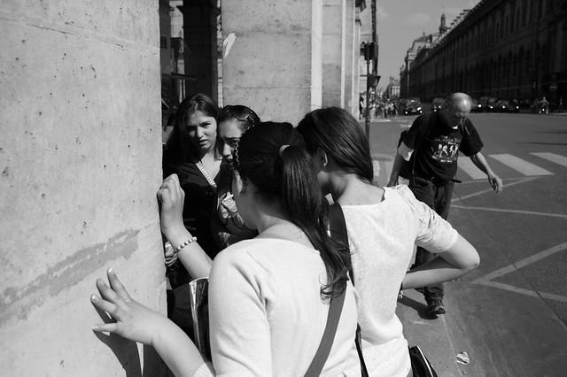 Faces of Rue de Rivoli, Paris, #6