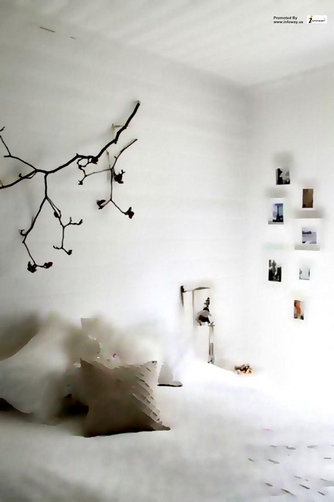 Master bedroom design white theme