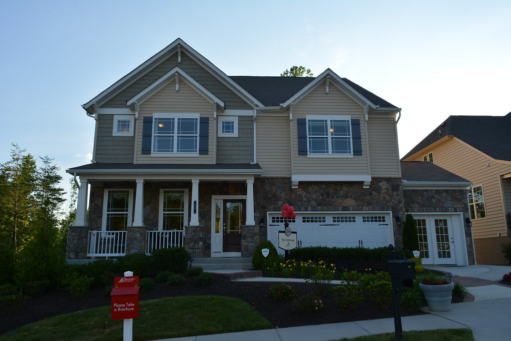Beazer Homes At Colonial Forge Subdivision In Stafford Vi Flickr