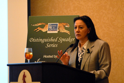 2013 Brown and Brown Distinguished Speaker Series: Sandy Lerner