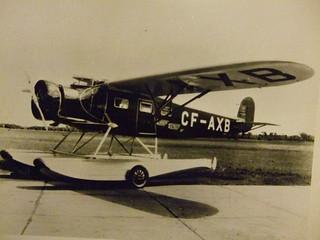 EDMONTON AIRPORT c.1935, SEAPLANE